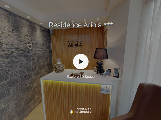 360° Virtual Tour - Apartments Residence Ariola in Wolkenstein in Görden,